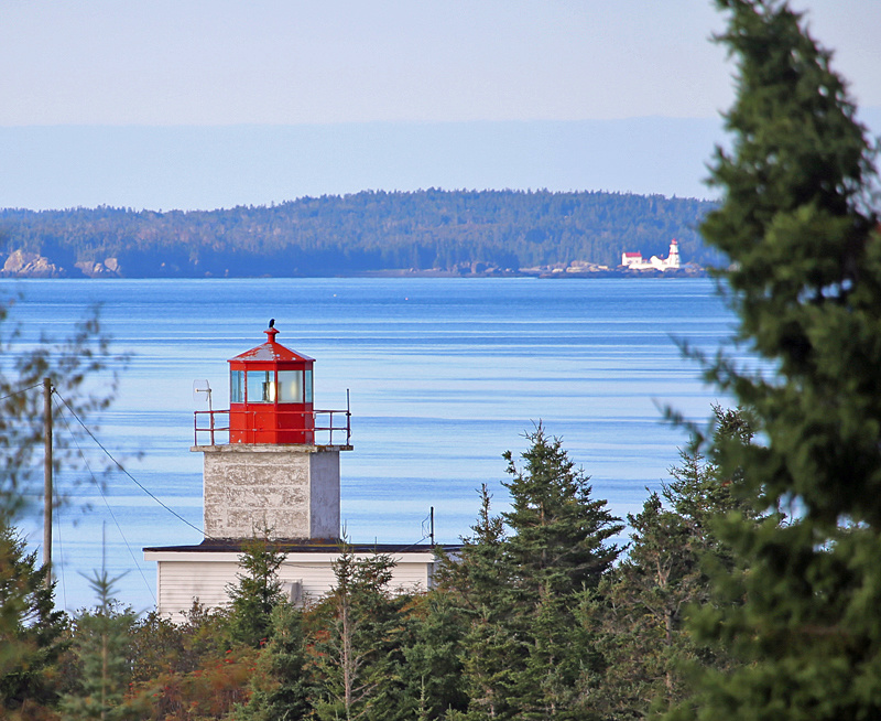Pea Point Lighthouse Blacks Harbour New Brunswick Canada - Lighthouses of New Brunswick