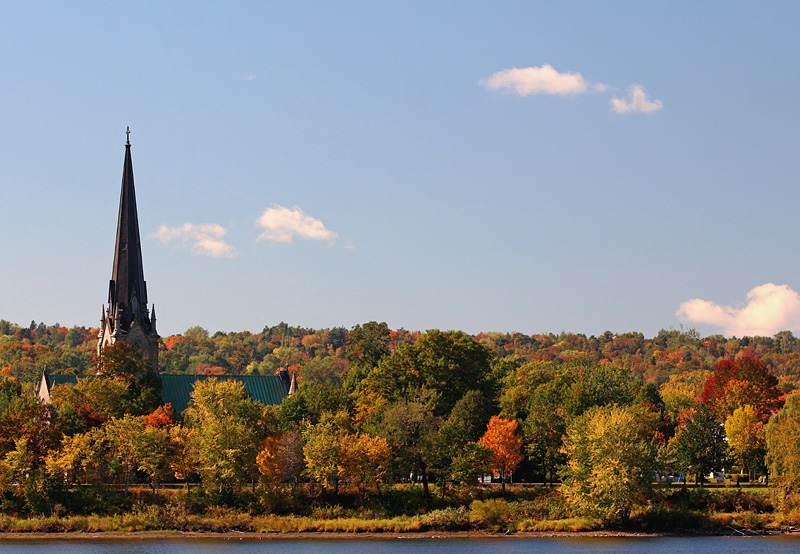 Christ Church Cathedral Fredericton New Brunswick Canada