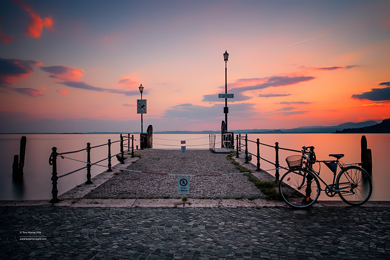 Lake Garda, Sunset - LANDSCAPES (outside Ireland)