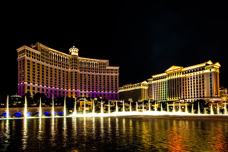 The Bellagio, LAS VEGAS - LANDSCAPES (outside Ireland)