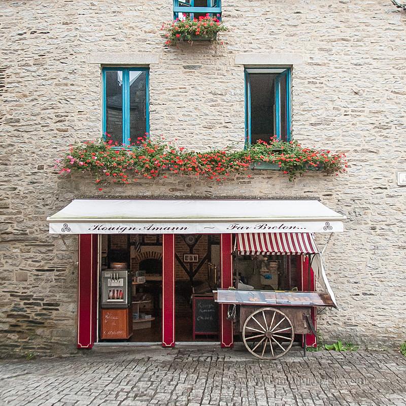 The Breton Cake shop - LANDSCAPES (outside Ireland)