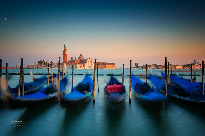 Sunset in Venice - LANDSCAPES (outside Ireland)