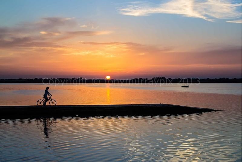 Sunset Malahide Estuary - Malahide