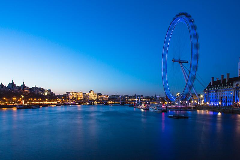 London Eye Sunset 2 - City