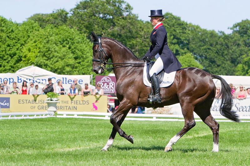 Zara Phillips | Dressage | Equestrian Photography