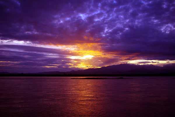 Irrawaddy sunset - Burma