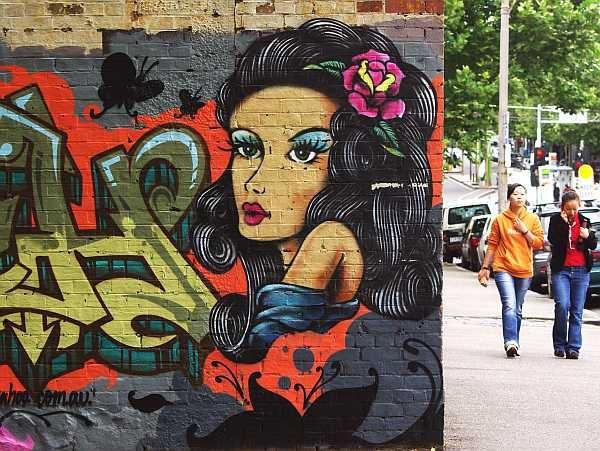 Carlton graffiti - Melbourne
