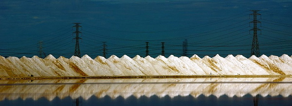 Salt mining, Dry Creek - Adelaide, South Australia