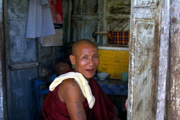 Old Buddhist Monk - Burma