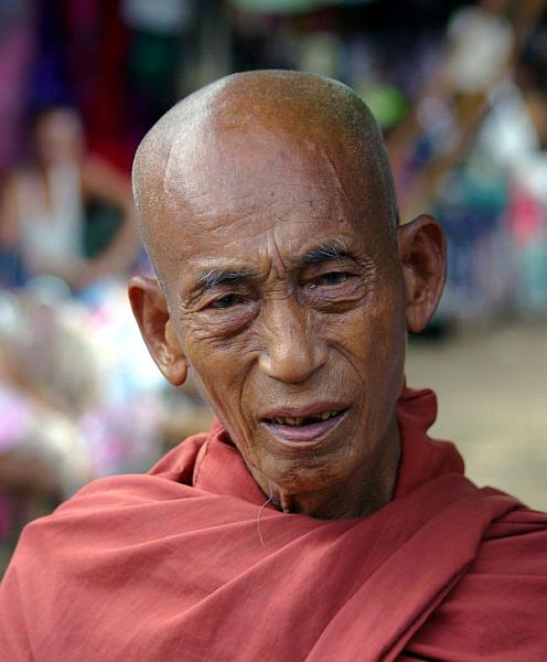 Burmese monk - Burma