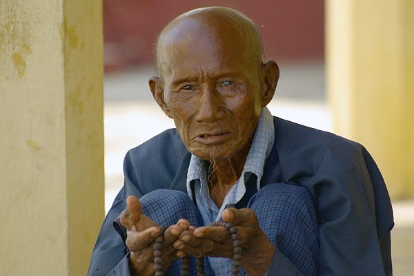 Bagan monk - Burma