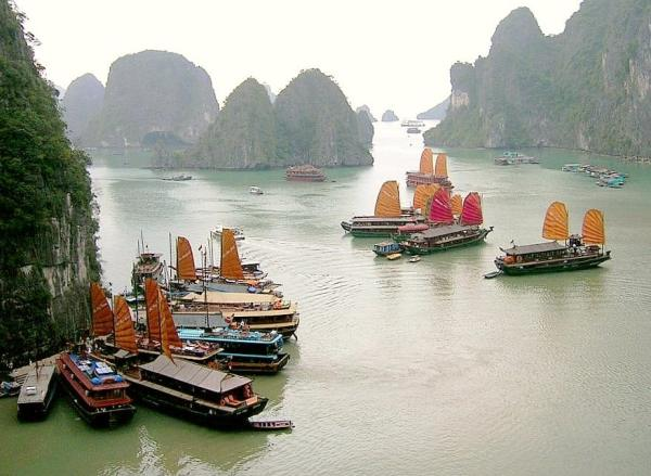Halong Bay - Cambodia and Vietnam