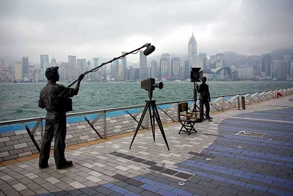 Avenue of the Stars, Kowloon, Hongkong. - Hongkong and Macau
