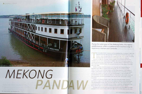 Cruising the Mekong - Some magazine articles