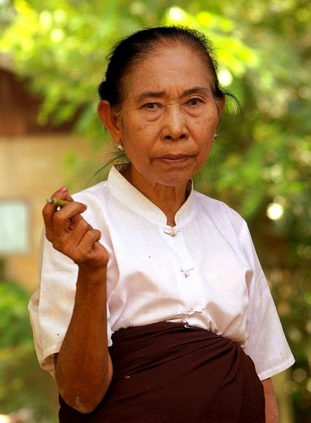 Chinese woman - Burma