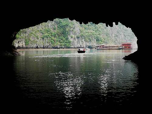 Cave, Halong Bay - Cambodia and Vietnam