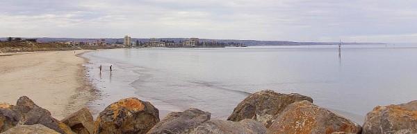 Glenelg coastline - Adelaide, South Australia