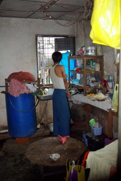 Tin's kitchen - Burma