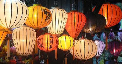 Paper lanterns, Hoi An - Cambodia and Vietnam