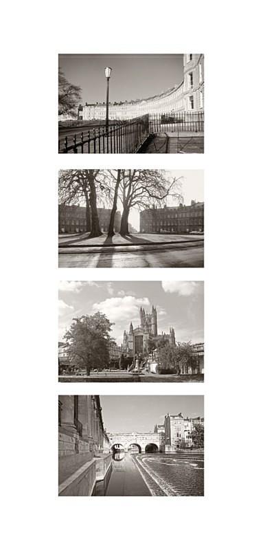 Bath Landmarks - Quadpic, Portrait EDC151 - Bath