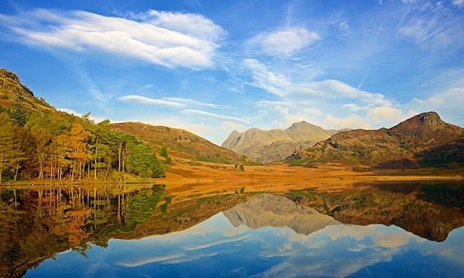 Blea Tarn and the Langdale Pikes EDC229 - Lake District