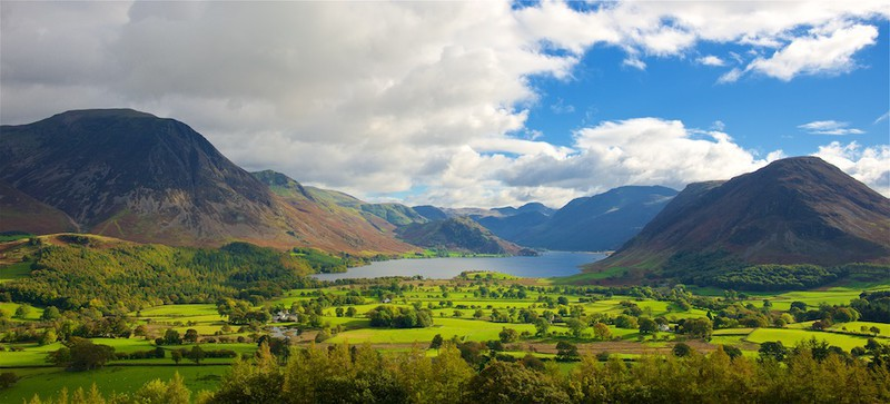 Crummock Water and the Buttermere fells, Lake District EDC248 - Lake District