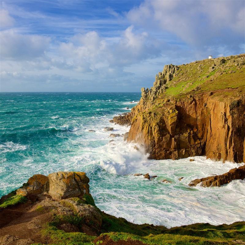 Storm Doris, Land's End, Cornwall EDC268 - Cornwall