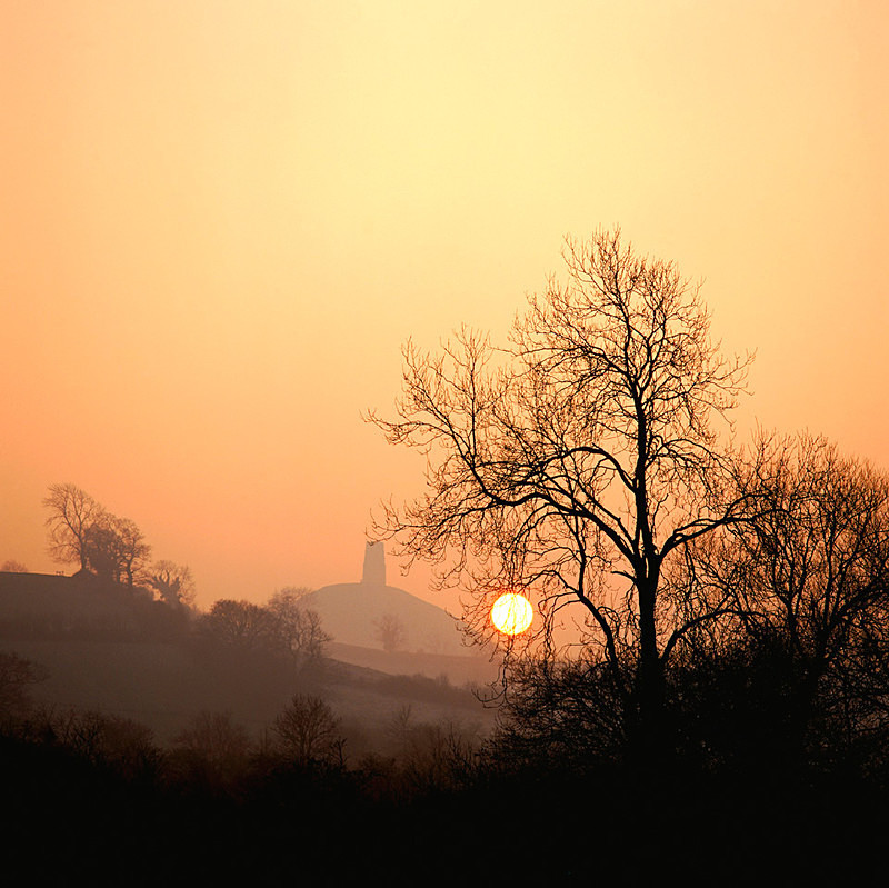 Late Winter Sun, Glastonbury Tor, Somerset EDC052 - England