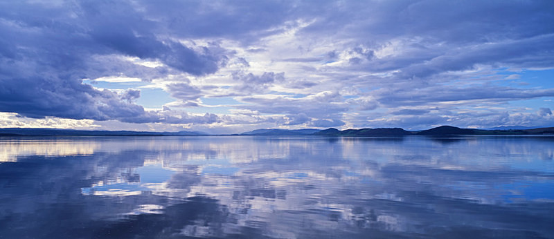 Calm after the Storm, Moray Firth, towards Inverness EDC016 - Scotland