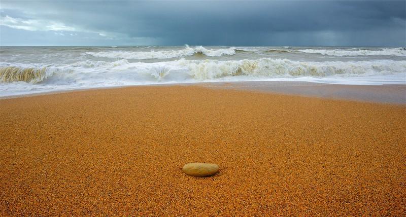 Storm Wave, Chesil Beach,Burton Bradstock,Dorset EDC240 - England