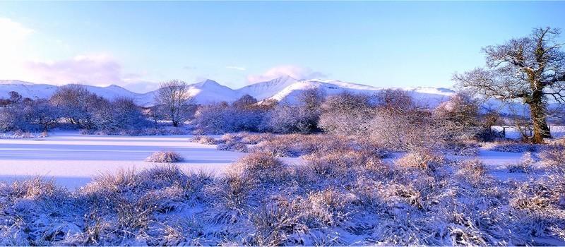 Icy dawn, Pen y Fan, Brecon Beacons EDC258 - Wales