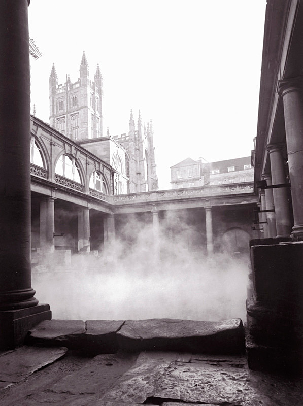 Roman Baths and Bath Abbey, Bath EDC031 - Bath
