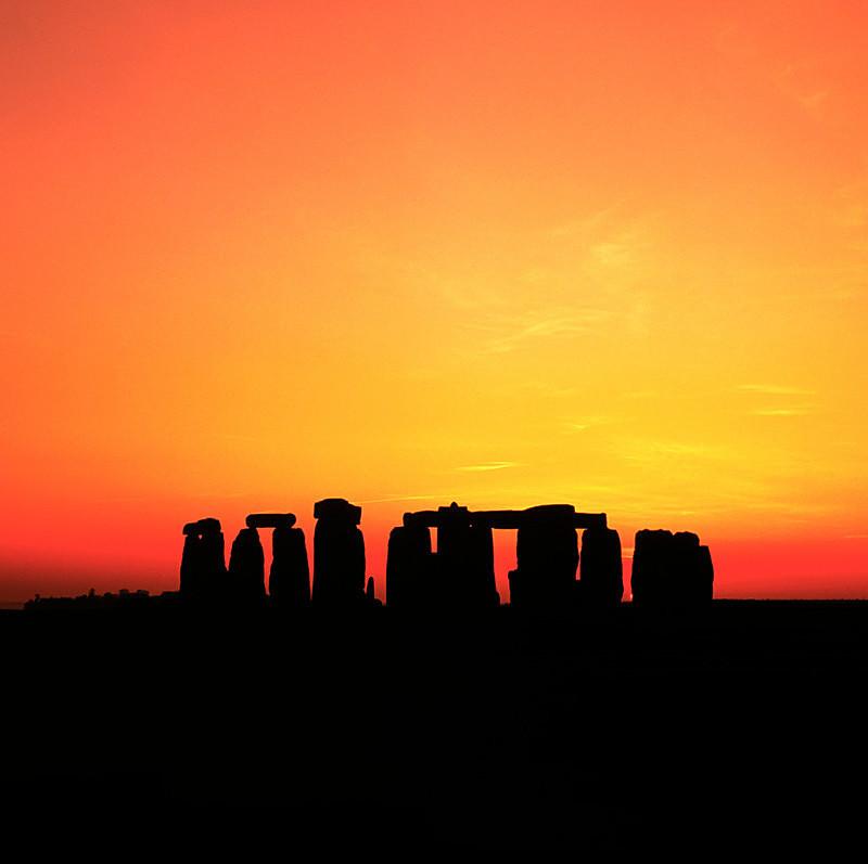 Stonehenge Sunset, Wiltshire EDC027 - England