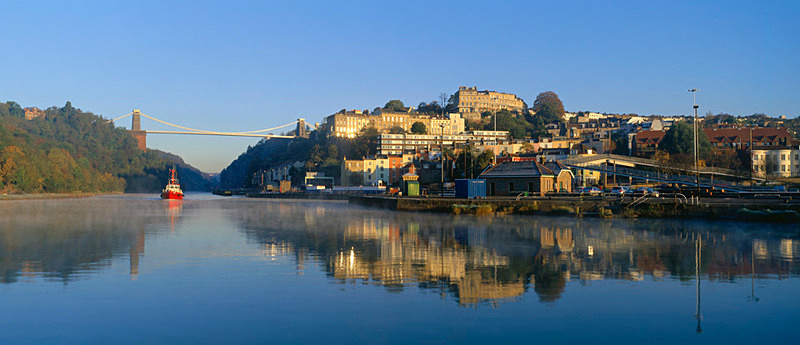 Clifton Suspension Bridge, Avon Gorge, Bristol EDC067 - England