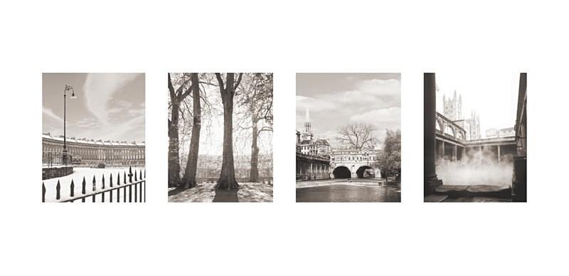 Bath Landmarks - Quadpic, Landscape EDC150 - Bath
