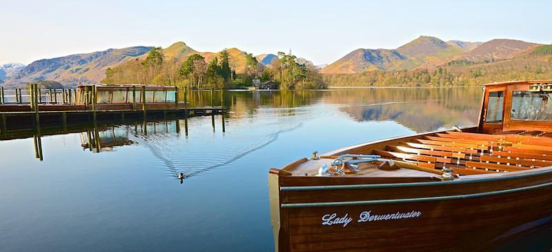 Lady Derwentwater, Derwent Water, Catbells and Causey Pike EDC200 - Lake District