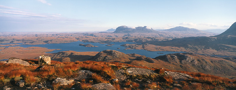 Early Morning, Suilven, Sutherland - not available as greeting card - Scotland