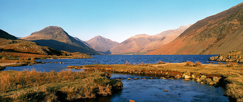 Wast Water, Great Gable and Scafell Pike EDC010 - Lake District