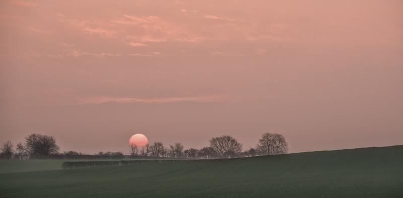 Sunrise Thursday 9th April 2015 - Early Mornings