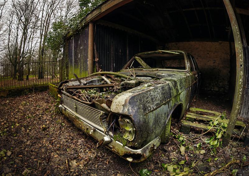 Seen better days - 'Abandoned Ireland'