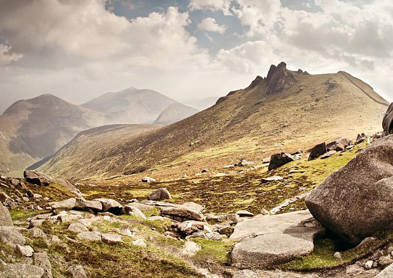 Slieve Bernagh - Irish Landscapes