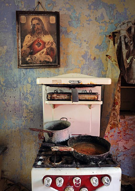 Abandoned Irish Kitchen (i) - 'Abandoned Ireland'