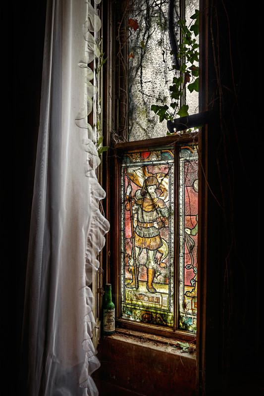 A Grand Window - 'Abandoned Ireland'