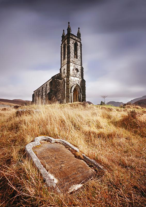 Old Dunlewey Church, Donegal - Irish Landscapes