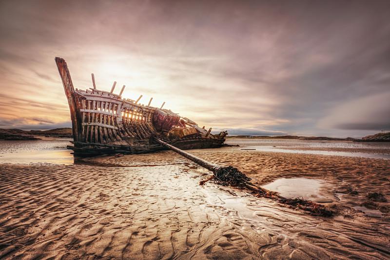 'Bad Eddie (i)' - Irish Landscapes