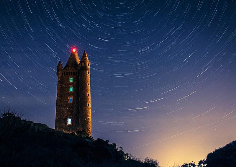 Scrabo Stars - Irish Landscapes