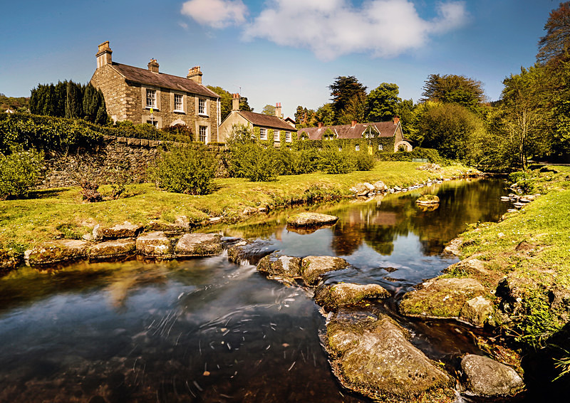The Fairy Glen, Rostrevor. - Irish Landscapes