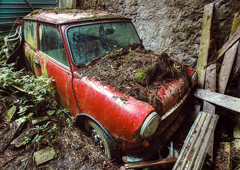 No more Mini Adventures - 'Abandoned Ireland'
