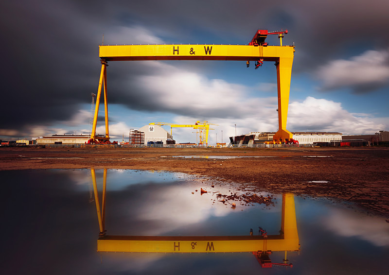 Harland & Wolff - Irish Landscapes