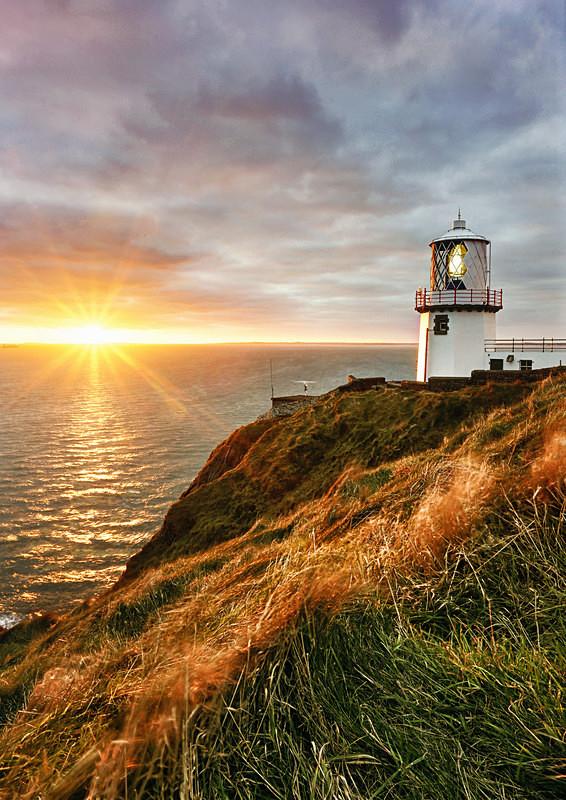 Blackhead lighthouse, Co. Antrim - Irish Landscapes